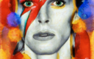 David Bowie. Far above the moon