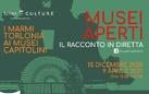 Musei aperti: il racconto in diretta dei Marmi Torlonia ai Musei Capitolini