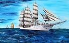 Damiano Merlin. Il mare con i suoi velieri