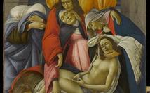 Sandro Botticelli. Compianto sul Cristo morto