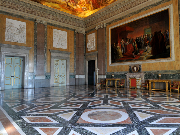 Salone di alessandro di caserta monumento for Sala da pranzo usata caserta