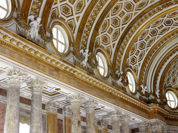 Cappella Palatina Reggia Di Caserta Interni.Cappella Palatina Di Caserta Monumento Arte It